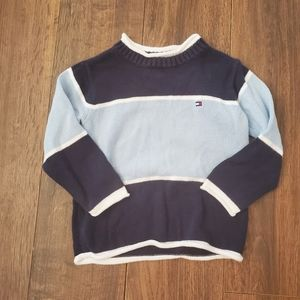 Tommy Hilfiger Toddler Striped Crew Neck Sweater